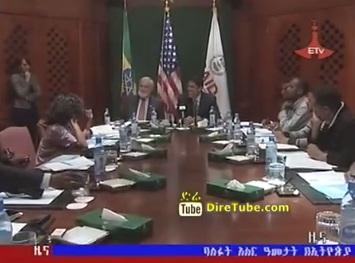 Ethiopian News - USAID Administration Visit to Ethiopia