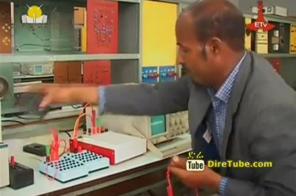 Addis TV - Multi-Tasking Ability - Singer and Teacher Tseganew Menberu