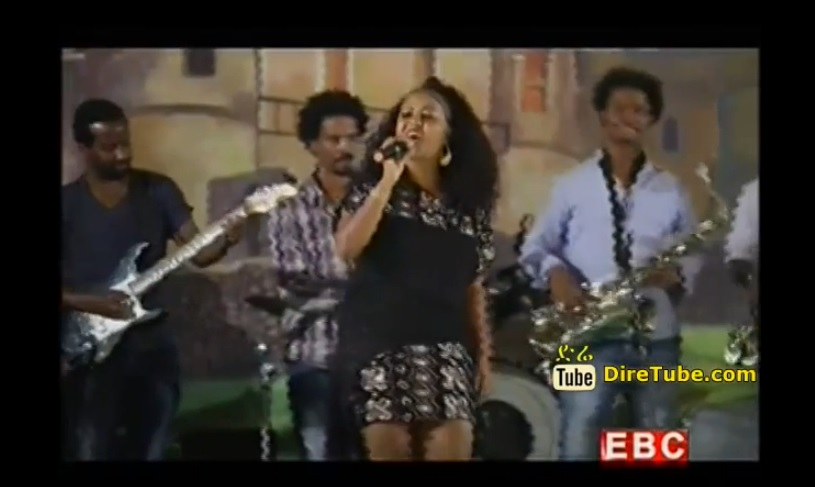 Eden G-Selassie - Sewenwano Performing Live on Ethiopian Christmas 2007
