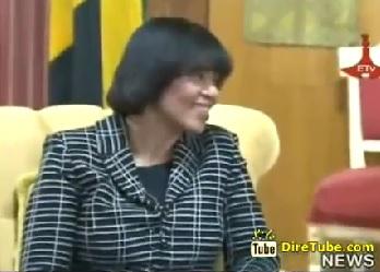 Ethiopian News - PM Hailmariam Discusses with Liberian President