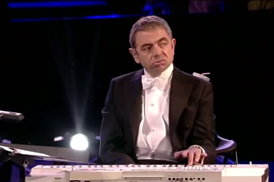 London 2012 - Mr. Bean - Opening Ceremony - London 2012 Olympic Games