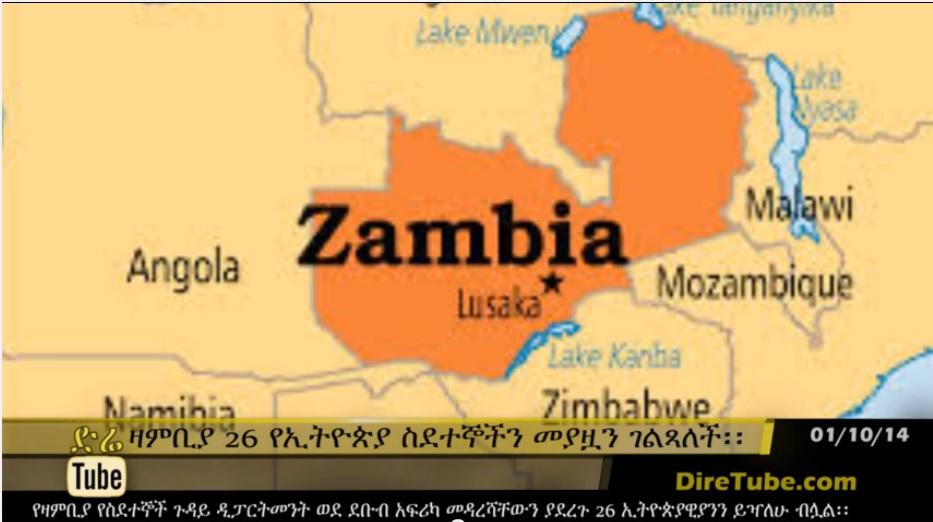 DireTube News - 26 Ethiopian 'illegal' immigrants nabbed