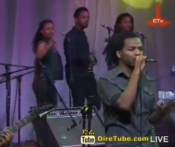 Hailu Amerga - Performing Live @ ETV Studio - Jano Band