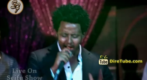 "Dawit Haileslassie - Performing ""Bana"" Live on Seifu Show"