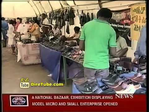 News in English - A National Bazaar, Exhibition Displaying Model Micro and Small Enterprise Opened