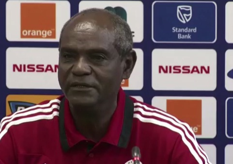 Afcon 2013 - Sewenet Bishaw Press Conference for Ethiopia Vs Nigeria