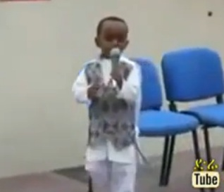 Ethiopian Talent - Talented Kid Presenting Amazing Poem [Must Watch]