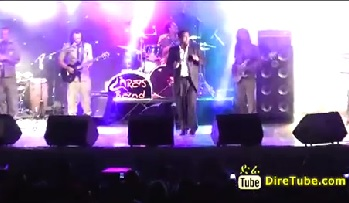 DireTube - Dawit Melese Amazing Performance Live at Weleta Concert